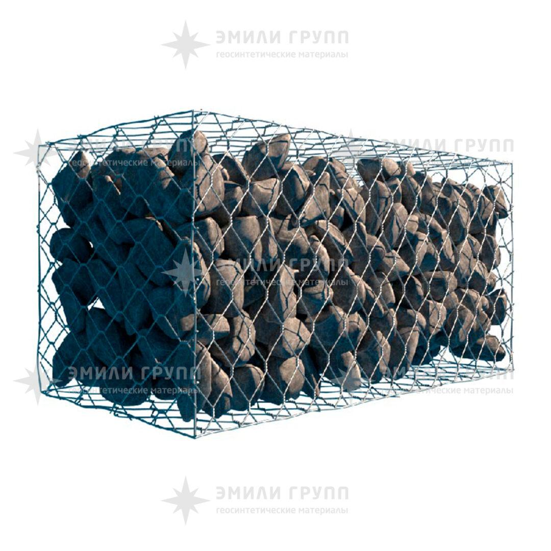 Габион коробчатый ГСИ-К 1,5х1х0,5