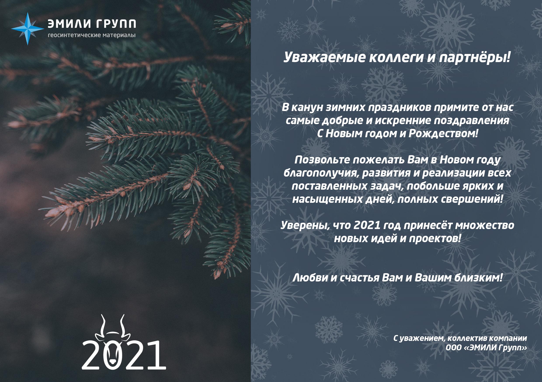 ЭМИЛИ Групп с Новым годом партнёр!