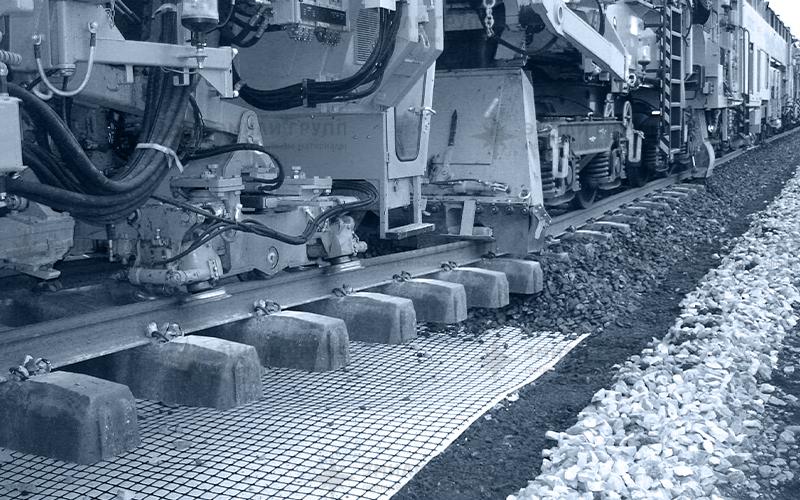 Геотекстиль для железнодорожного строительства